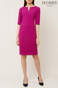 Hobbs Pink Eimear Dress