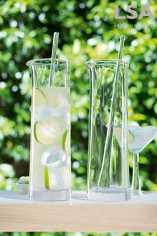 LSA International Gin Jug And Stirrer