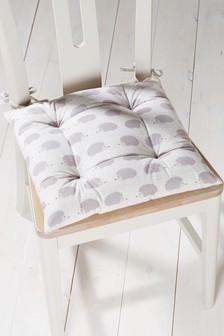 Hedgehog Print Seat Pad