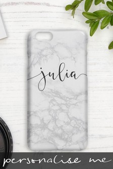 Personalised Marble Scribble Phone Cover By Koko Blossom