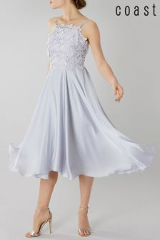 Coast Silver Janie Lace Midi Dress