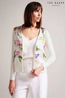 Boden Pink Appliqué Dress And Leggings Set