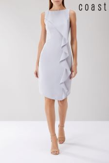 Coast Grey Shanie Drape Shift Dress