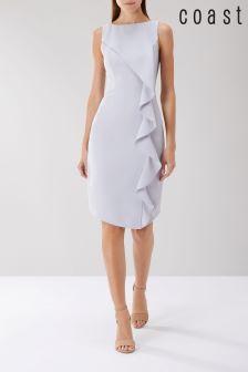 Coast Grey Shanie Drape Shift Dress