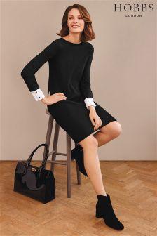 Hobbs Black Cecilia Dress