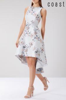 Coast Multi Anneka Jacquard Dress