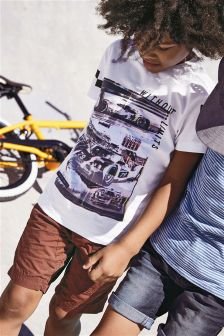 Racing Car T-Shirt (3-16yrs)