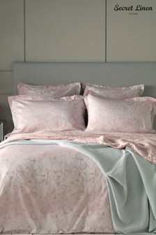 Secret Linen Company Butterfly Pillowcase