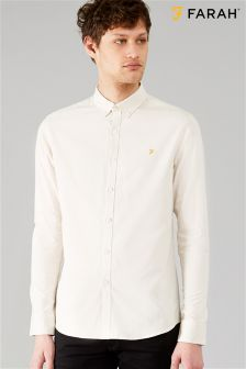 Farah Natural Steen Shirt