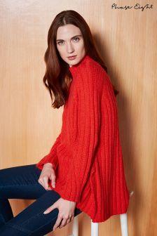 Phase Eight Red Flame Fae Chunky Knit