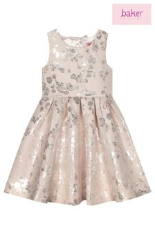 baker by Ted Baker Floral Blossom Jacquard Prom Dress