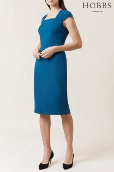 Hobbs Blue Catriona Dress