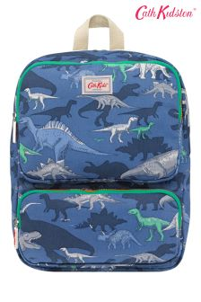 Cath Kidston® Blue Dino Shadow Junior Boys Backpack