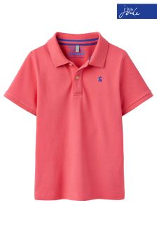 Joules Pink Woody Polo