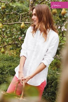 Joules White Jeanne Shirt