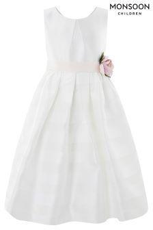 Monsoon Ivory Elowen Dress