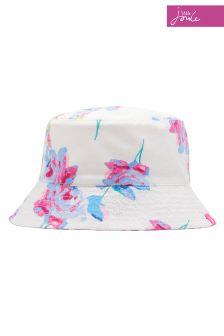Joules Cream Reversible Hat