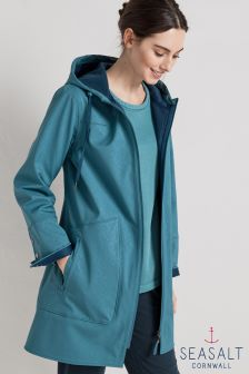 Seasalt Blue Peacock The Skimming Stones Coat