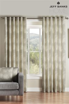 Jeff Banks Cyrus Eyelet Curtains