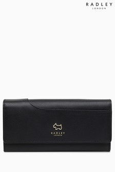 Radley Black Pockets Large Flapover Matinee Bag