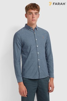Farah Blue Steen Shirt