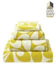 Orla Kiely Acorn Towel