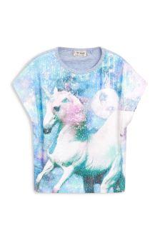 Sequin Short Sleeve T-Shirt (3-16yrs)