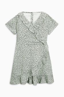 Printed Ruffle Dress (3-16yrs)