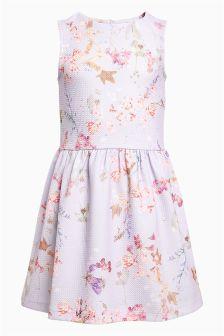 Floral Ponte Dress (3-16yrs)