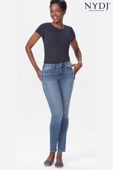 NYDJ Light Denim Alina Uplift Slim Leg Jean