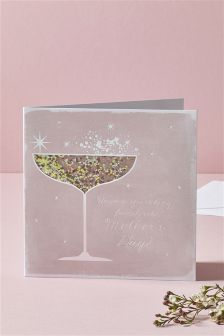 Sequin Shaker Mother's Day Card