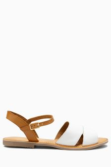 Leather Two Part Sandals