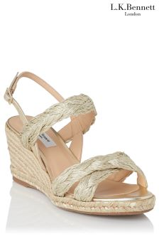 L.K. Bennett Roxie Wedge Sandal