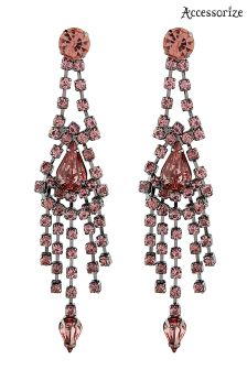 Accessorize Pink Riri Statement Earring