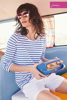Joules Navy Stripe Soleil Jersey Top