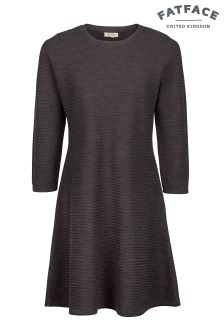 FatFace Phantom Simone Knitted Dress