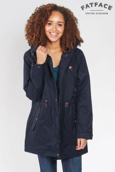 FatFace Navy Taylor Sealed Seam Jacket