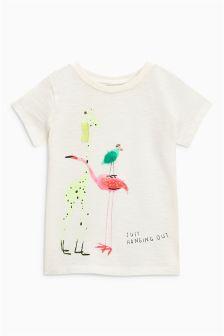 Character Print T-Shirt (3mths-6yrs)