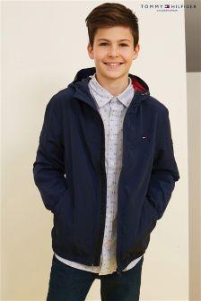 Tommy Hilfiger Boys Hooded Zip Jacket