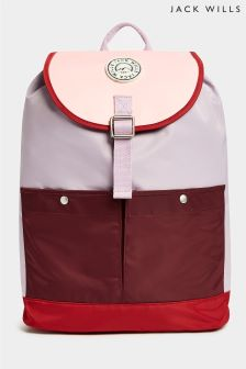 Jack Wills Lilac Hendon Mini Backpack