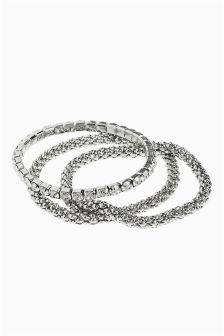 Multi Chain Statement Bracelet