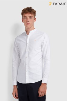 Farah White Brewer Shirt