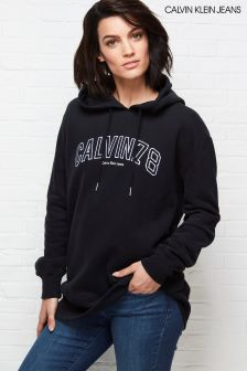 Calvin Klein Black Loose Fit 78 Hoody