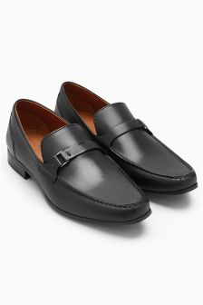 Metal Trim Loafer