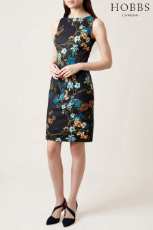 Hobbs Blue Moira Dress