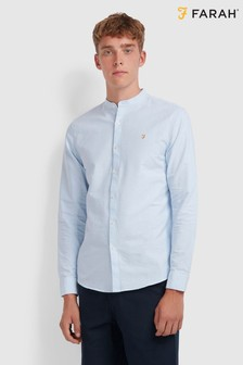 Farah Blue Brewer Shirt