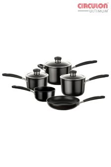 Set of 5 Circulon Ultimum Phenoloic Pans