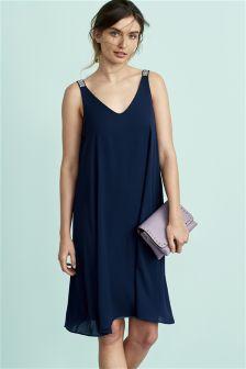Embellished Cami Dress