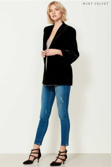 Mint Velvet Blue Savannah Distressed Skinny Jean
