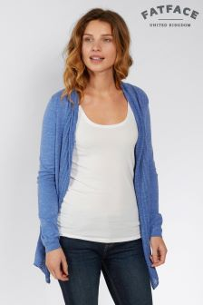 Fat Face Azure Organic Cotton Libby Cardigan